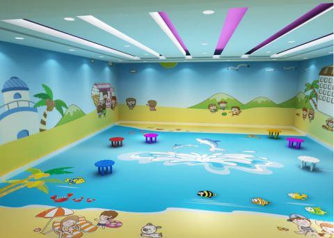 幼儿园墙面壁纸 童趣十足的稚子之心