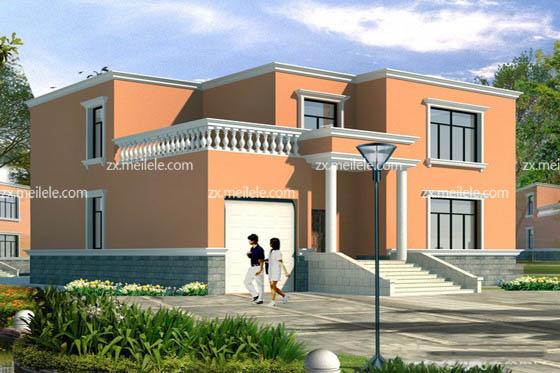 03 农村二层小别墅设计方案大全    农村二层小别墅设计之独栋别墅