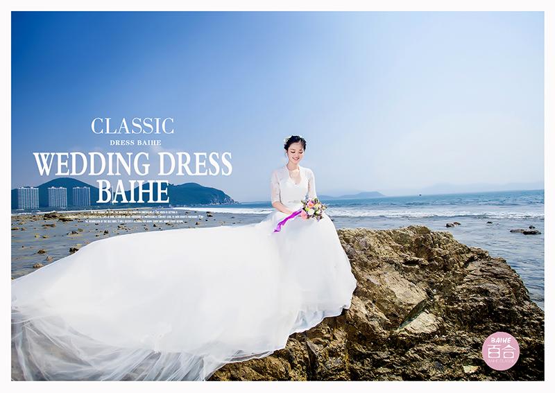 韩式婚纱照发型如何设计