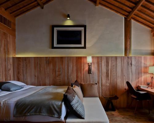 走进自然 原木风格卧室如何装修
