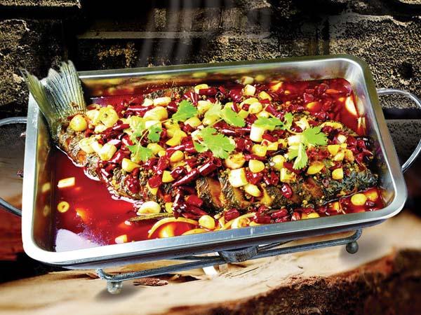 农夫烤鱼 四人套餐原价156现价128 (美味烤鱼 鸡公煲等)图片