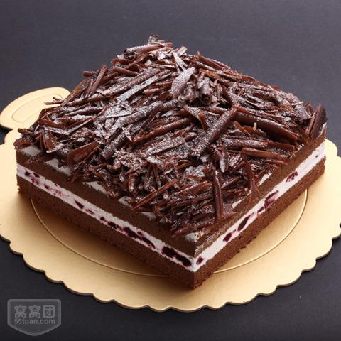 【卡蜜儿蛋糕】黑森林慕斯蛋糕(10寸)原价128元现价105元