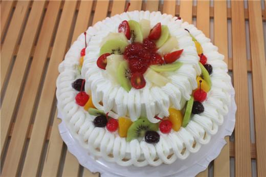 仅售78元,价值138元【自然果蛋糕坊】12 8寸两层香芋/红豆 布丁!