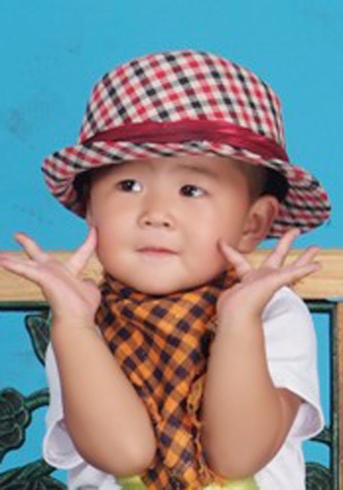 小孩美甲简单可爱图片