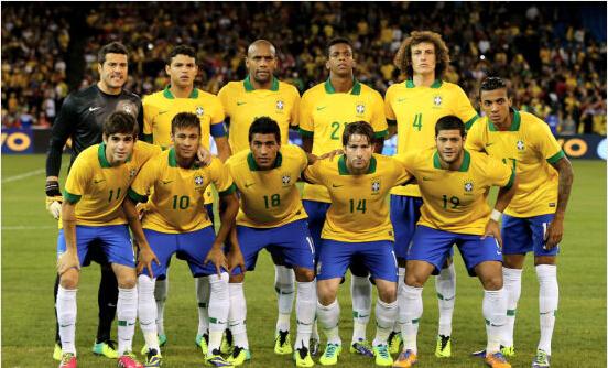 巴西队新9号理查利森不愧5000万的身价,球迷:让人想起