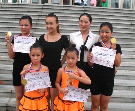 舞林之星舞蹈学校学生荣誉
