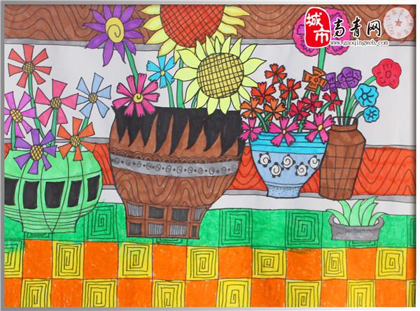 小学五年级绘画比赛作品图片