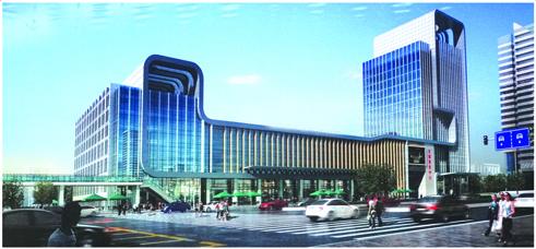 1002澳门永利官网新区汽车站设计方案二