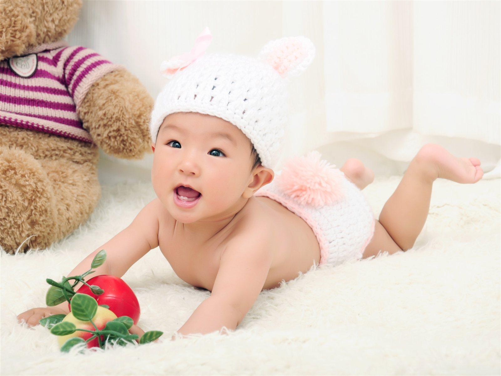 可爱宝宝动态带字