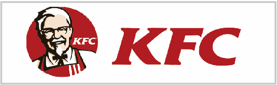 kfc手绘图片