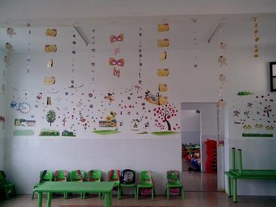 瓜里中心幼儿园开展幼儿手工制作比赛活动