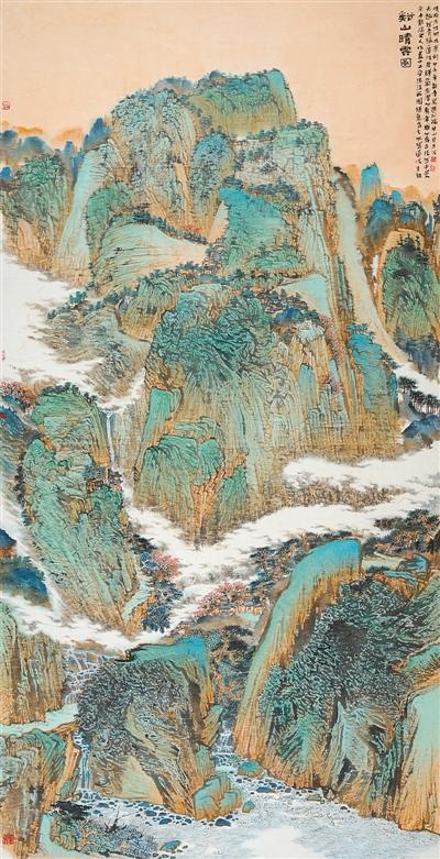 全国第二届现代工笔画大展 作品选登 -林甸温泉湿地文化沙龙