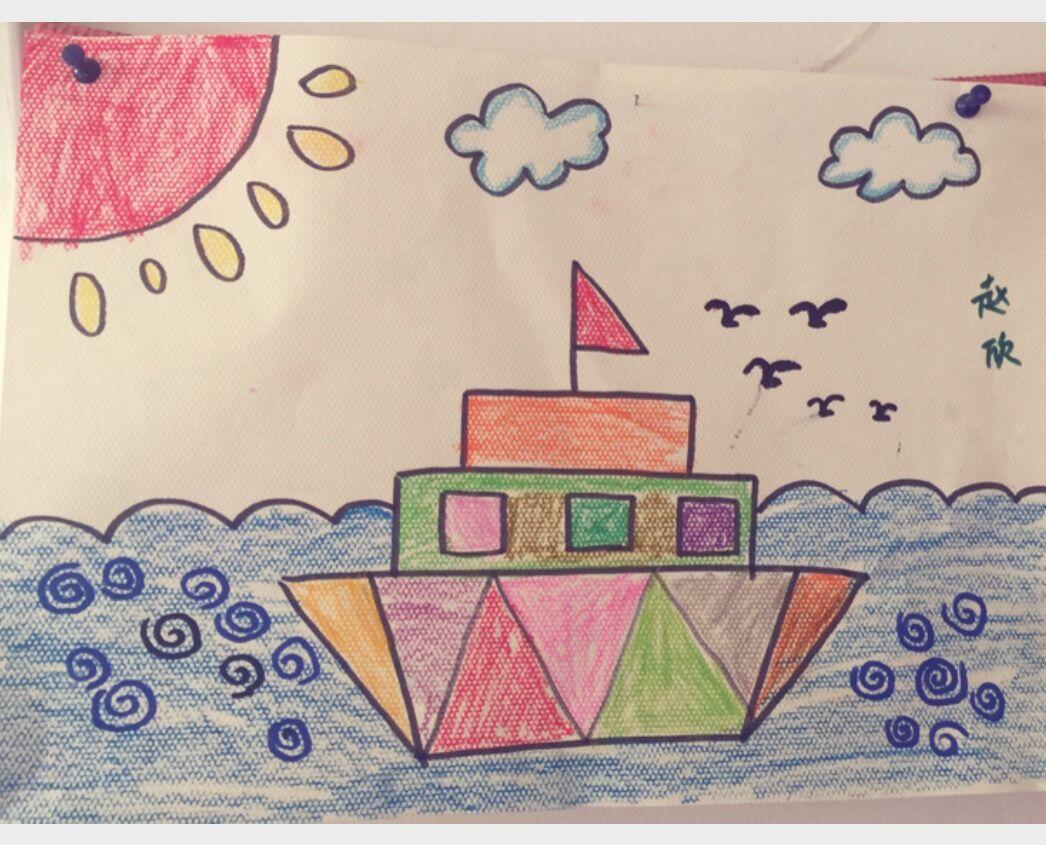 design 半圆形组成的图画图片大全_半圆形组成的图画图片  儿童用图形