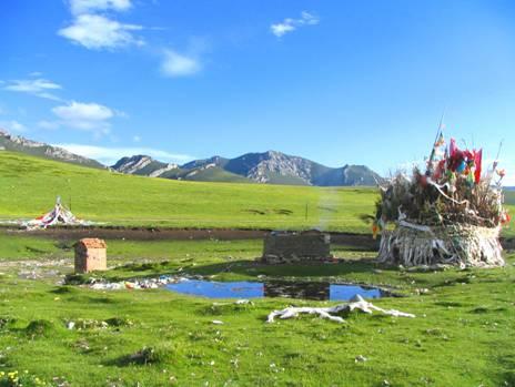 河南蒙古族自治县的风景名胜