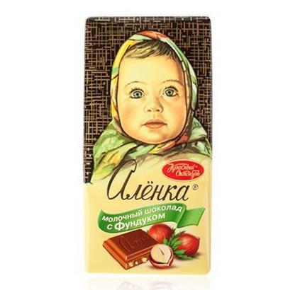 俄罗斯大头娃娃巧克力