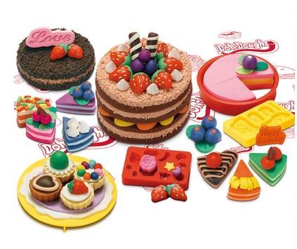 生日蛋糕彩泥