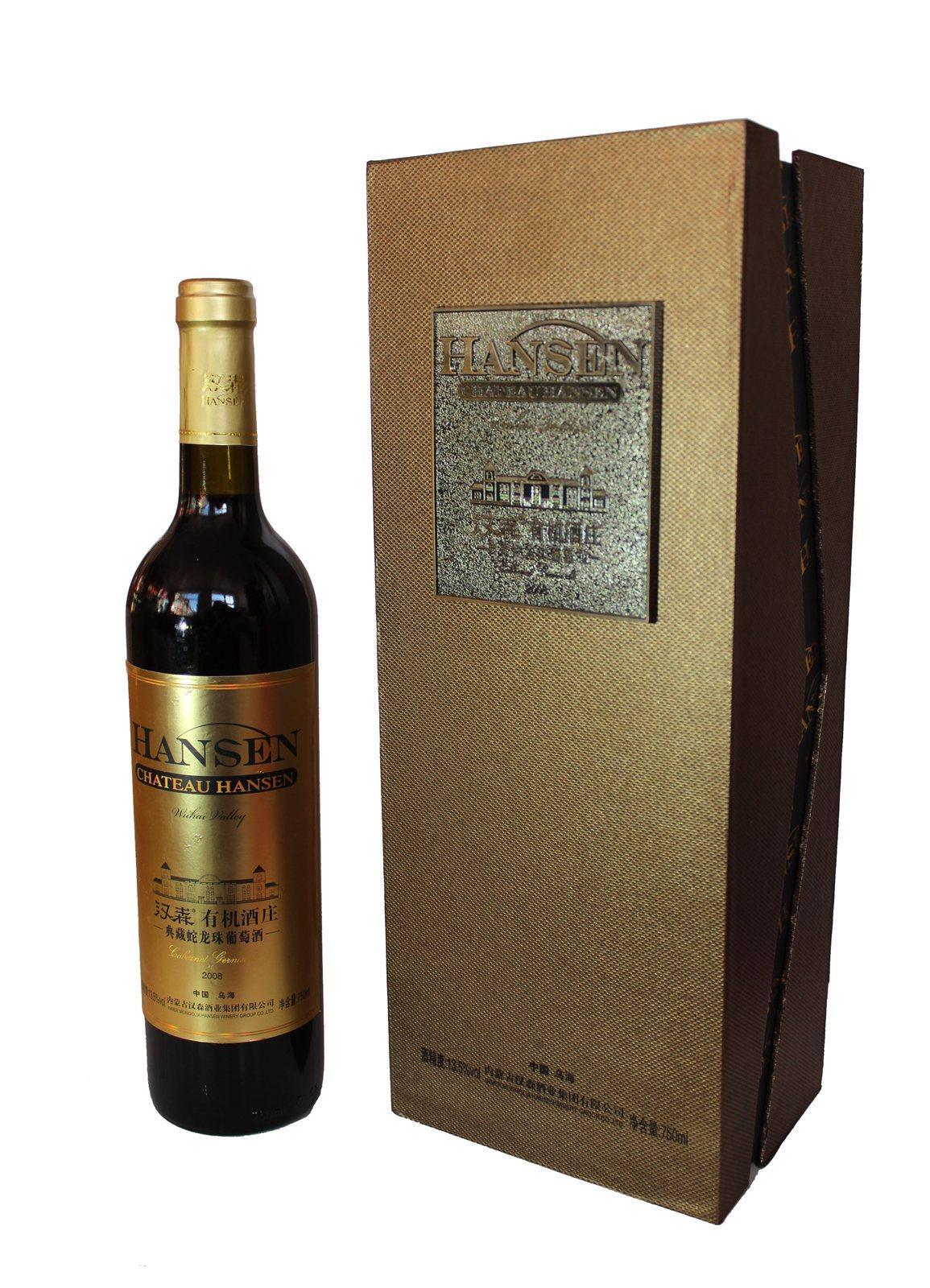 汉森经典蛇龙珠葡萄酒图片