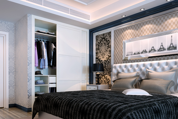 玛格定制家具 h型平板系列 米兰春天 卧房衣柜 a001