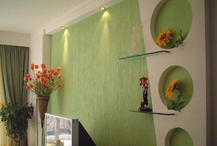 户外手绘墙壁硅藻泥