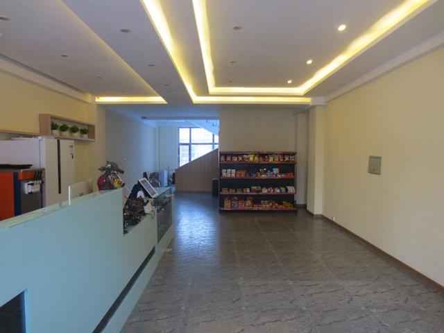 商务宾馆吧台背景图片